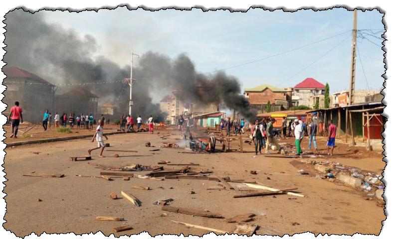 أسفرت أعمال عنف بعد الانتخابات في غينيا عن مقتل عشرة أشخاص في غينيا
