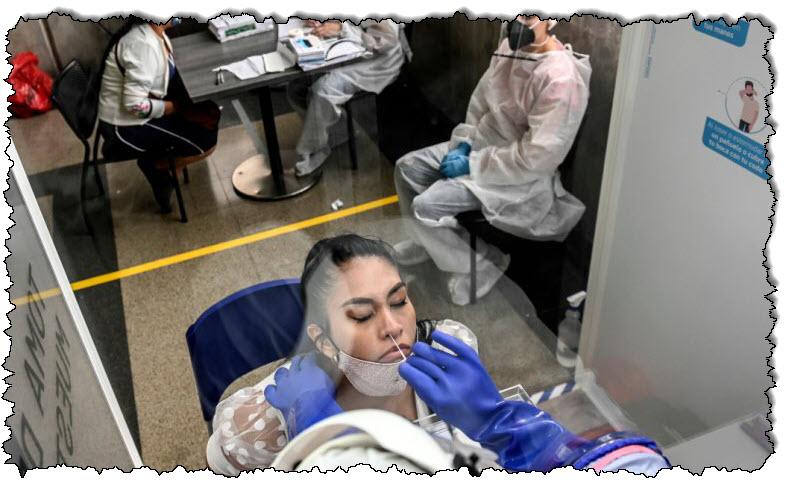 أكثر من مليون حالة إصابة بفيروس كوفيد -19 في كولومبيا | أمريكا اللاتينية