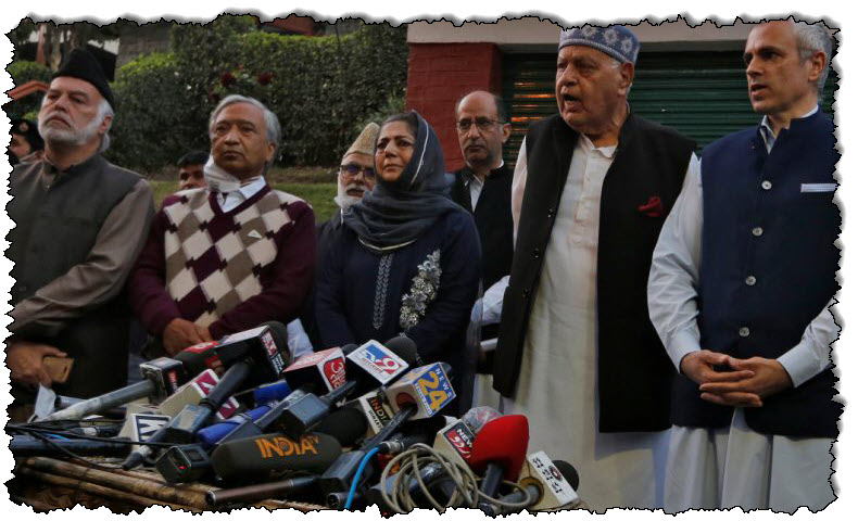 الأحزاب السياسية في كشمير تتحد من أجل الاستقلال الذاتي للهند
