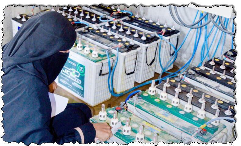 """الحرب و COVID-19 في مجتمع القوة """"Microgrid Girls"""" في اليمن   أخبار اليمن"""