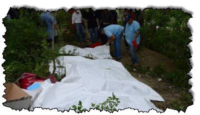صورة العثور على جثث شبان في مقابر جماعية في غواناخواتو بالمكسيك