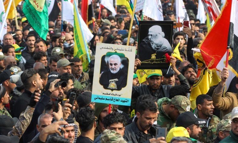 بغداد: أنصار الحشد الشعبي يصبّون الزيت على النار في مكتب الحزب الكردي   الشرق الأوسط