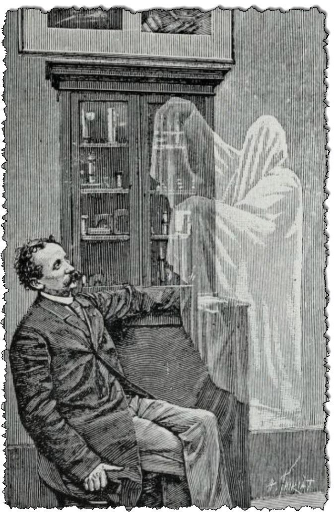 قد يأمل العريس دائمًا أن تكون عروسه الروحية هكذا.  (الصورة مأخوذة من Photography Entertainment ، 1905.)