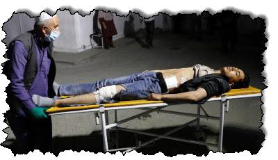 صورة تفجير انتحاري مميت في مركز كابول التعليمي في آسيا