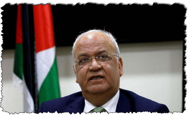 تم نقل عريقات ، أعلى ضابط في منظمة التحرير الفلسطينية أصيب بكوفيد -19 ، إلى المستشفى | الشرق الأوسط