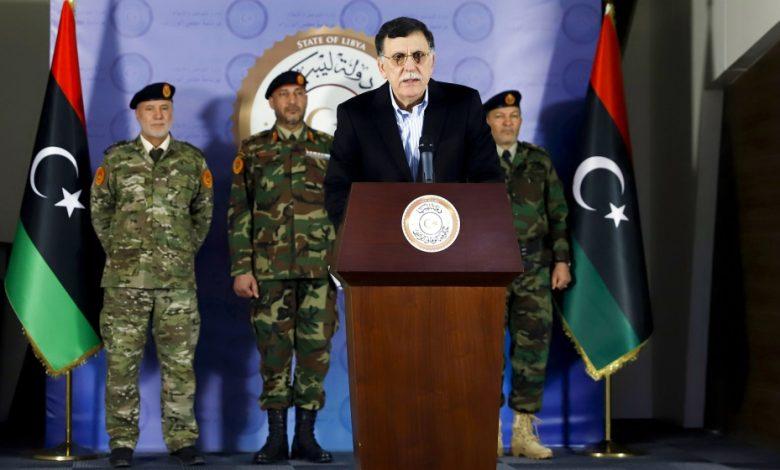رئيس الوزراء الليبي السراج يستقيل في الشرق الأوسط