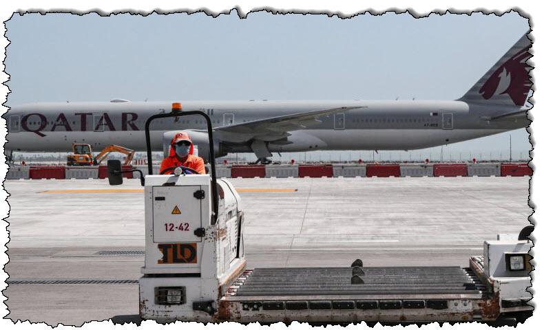 """ركاب """"يبحثن عن أحزمة"""" بعد العثور على أطفال في مطار الدوحة بأستراليا"""