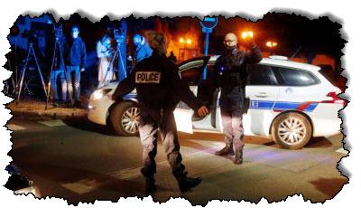 صورة فرنسا: تم قطع رأس المدرس ، وقتلت الشرطة في فرنسا المشتبه به
