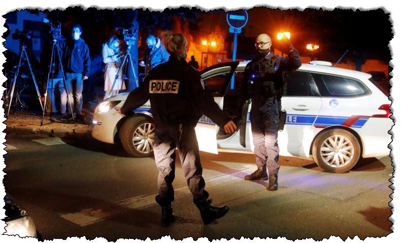 فرنسا: تم قطع رأس المدرس ، وقتلت الشرطة في فرنسا المشتبه به