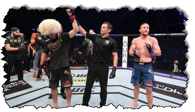 صورة في الصورة: بطل MMA الذي لم يهزم خبيب نورماغوميدوف | روسيا