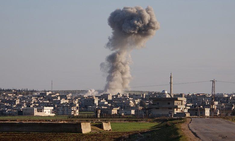 قتلت ضربات جوية في شمال غرب سوريا أكثر من 50 مقاتلا من المعارضة   الشرق الأوسط