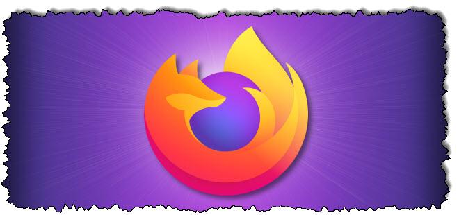 في Firefox ، انقر فوق الزر