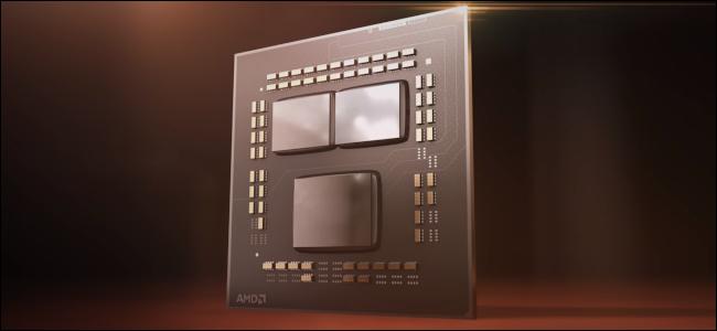 عرض السيليكون بالكمبيوتر على Zen 3 CPU.