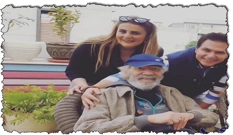 صورة شاهد آخر ظهور للنجم الضخم محمود ياسين قبل وفاته