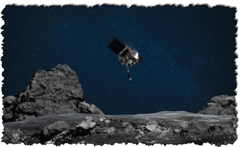 مسبار ناسا يسرب عينات كويكب بسبب الأبواب المحشورة