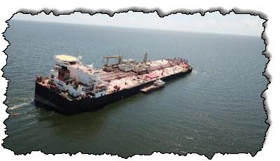 صورة ناقلة النفط الفنزويلية التالفة لديها أقل مخاطر تسرب فنزويلا