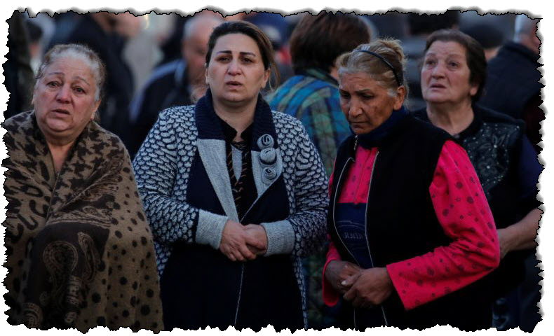 وتتهم أرمينيا أذربيجان بانتهاك اتفاق ناغورنو كاراباخ لوقف إطلاق النار في آسيا