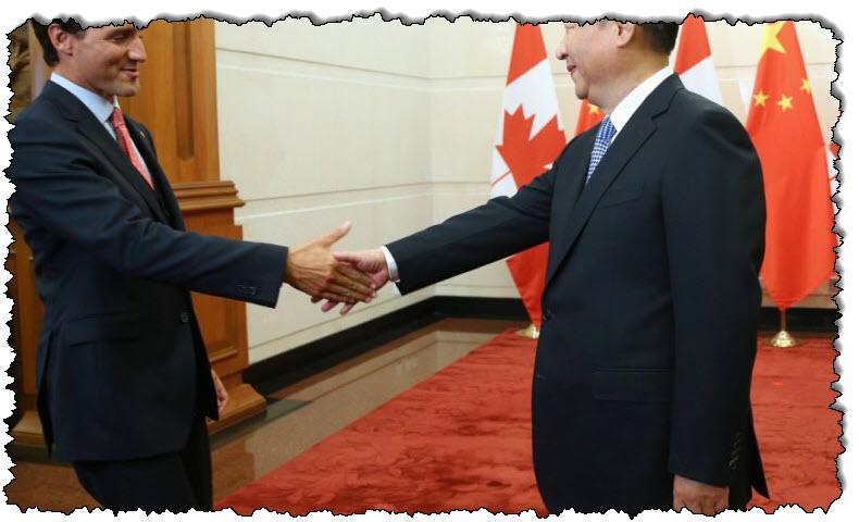 وقال ترودو إن الصين لن تخيف كندا بشأن قضايا حقوق الإنسان