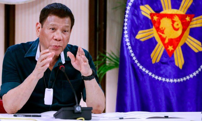 يريد Duterte اتفاقًا بين الحكومات بشأن لقاح COVID-19 في الفلبين