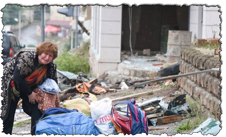 ناغورنو كاراباخ: صفارات الإنذار والقصف والملجأ لستيفن ناكيرت | آسيا
