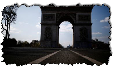 صورة تؤدي الزيادة في عدد حالات الإصابة بفيروس كورونا في الحملة الأوروبية إلى فرض حظر تجول في أوروبا على باريس