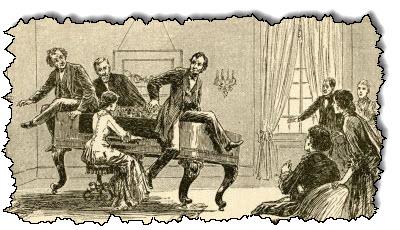 صورة أداء البيانو من قبل الجمهور