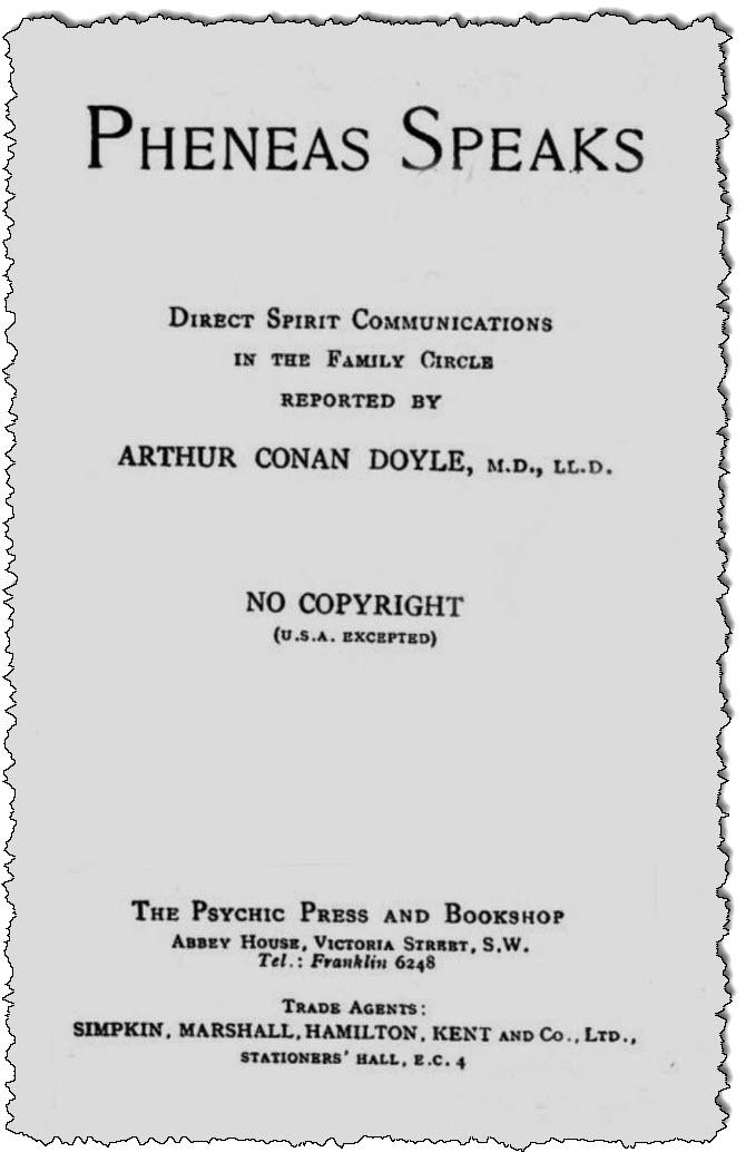 صفحة عنوان Freneas ، 1927.