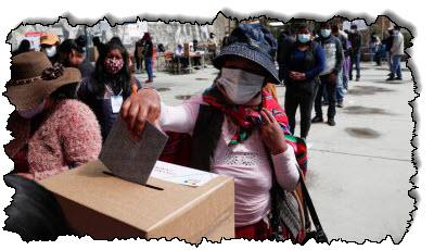 صورة بوليفيا تصوت في انتخابات رئاسية عالية المخاطر أثناء الوباء