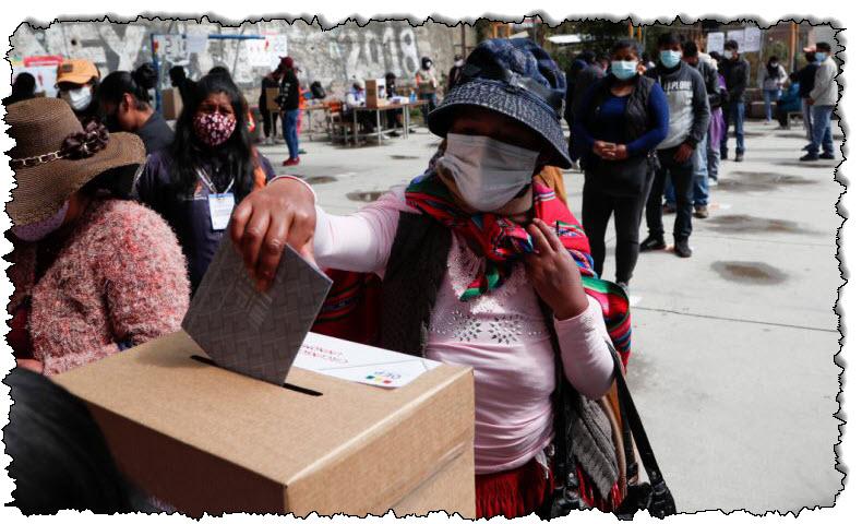بوليفيا تصوت في انتخابات رئاسية عالية المخاطر أثناء الوباء