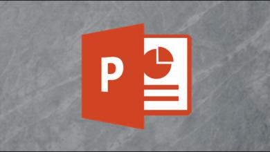 صورة كيفية تحويل خطاب رئيسي إلى Microsoft PowerPoint