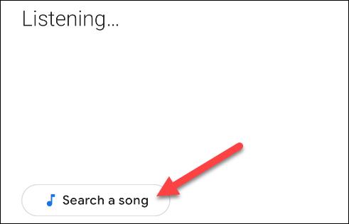 انقر فوق زر البحث عن الأغنية