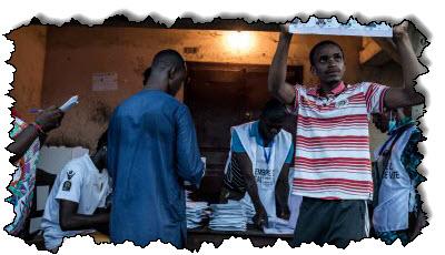 صورة غينيا: بدء فرز الأصوات بعد انتخابات ضيقة | غينيا