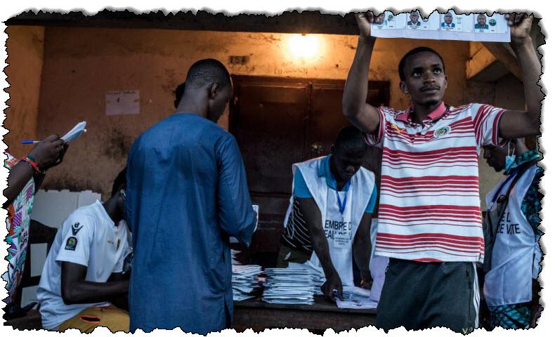 غينيا: بدء فرز الأصوات بعد انتخابات ضيقة | غينيا