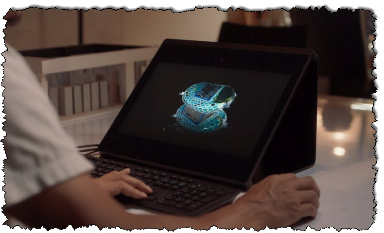 """سيتم طرح شاشة """"الهولوغرام"""" ثلاثية الأبعاد من سوني للبيع في نوفمبر - Commentary Geek"""