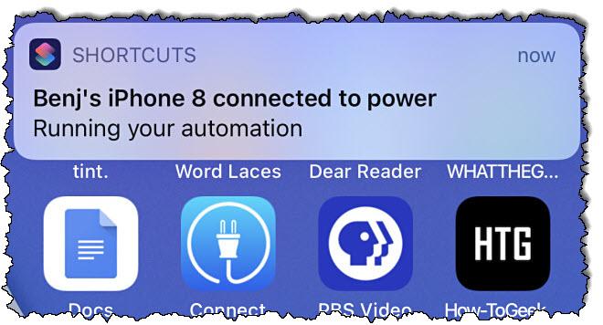 إشعارات آلية في iOS 14.