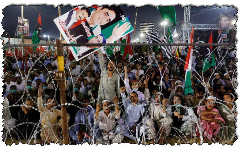 إطلاق سراح سياسي باكستاني مع استمرار المعارضة في الاحتجاج على باكستان