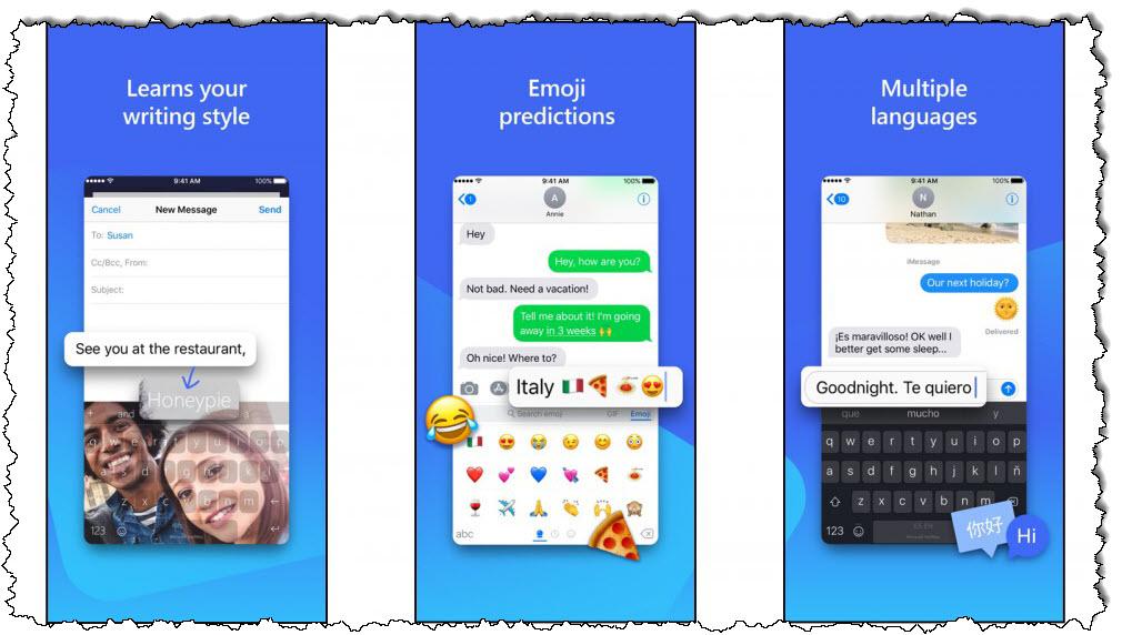 تطبيق SwiftKey للتحدث واستخدام الرموز التعبيرية بلغات مختلفة