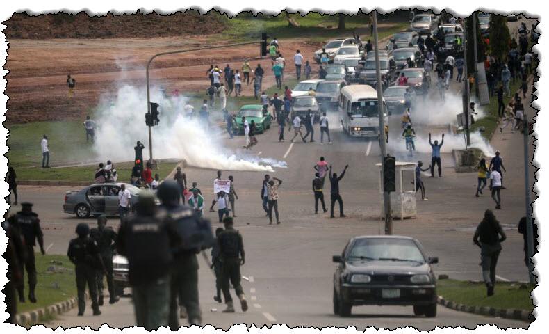 نيجيريا: حظر التجول في لاغوس أثناء الاحتجاجات الوحشية المناهضة للشرطة | نيجيريا