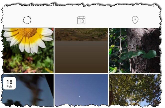 """نوع """"أرشيف القصة"""" في Instagram."""