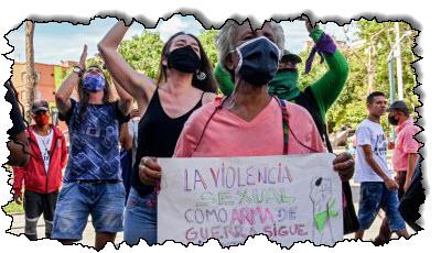 صورة تصاعد العنف ، وتشهد كولومبيا ارتفاعًا في عدد النساء اللواتي يُقتلن في أمريكا اللاتينية