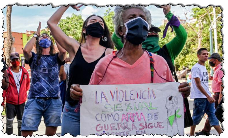 تصاعد العنف ، وتشهد كولومبيا ارتفاعًا في عدد النساء اللواتي يُقتلن في أمريكا اللاتينية