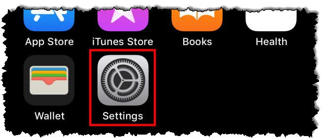 """صنبور """"مجموعة القيمة"""" أيقونة على iPhone"""