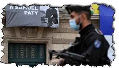 صورة بعد مقتل المعلم ، يخشى المسلمون الفرنسيون من أن الإسلاموفوبيا ستشتد في فرنسا