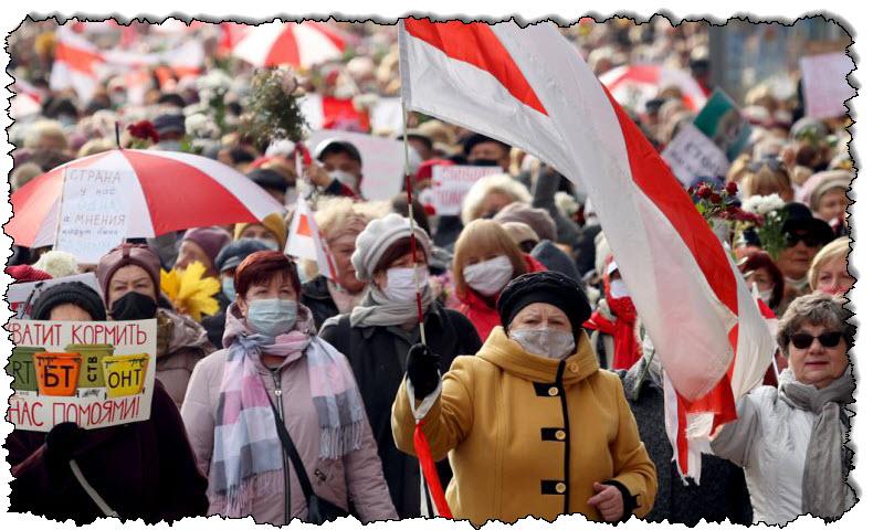 حركة معارضة بيلاروسية تفوز بجائزة ساخاروف لحقوق الإنسان | أوروبا
