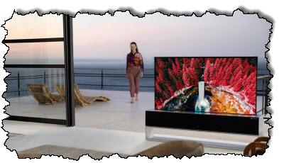 صورة يمكنك شراء كاميرا LG مع تلفاز رول أب فاخر من إل جي مقابل 87000 دولار أمريكي – مراجعة المهوس