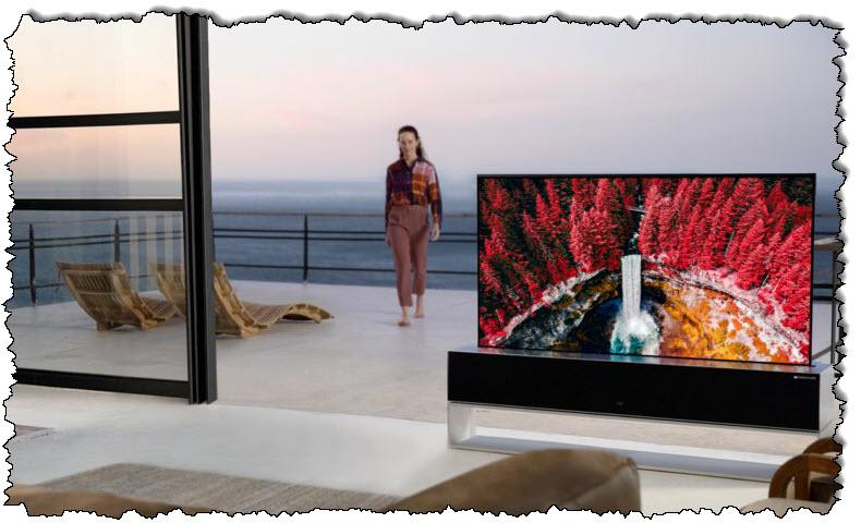 يمكنك شراء كاميرا LG مع تلفاز رول أب فاخر من إل جي مقابل 87000 دولار أمريكي - مراجعة المهوس