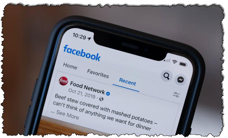 يقوم Facebook باختبار موجز أخبار زمني على الهواتف المحمولة - خبير التعليق