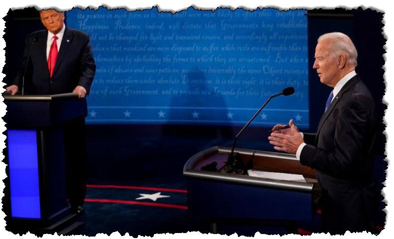 خلافات بين ترامب وبايدن تظهر في المناظرة الرئاسية الأخيرة للولايات المتحدة | الولايات المتحدة الأمريكية وكندا