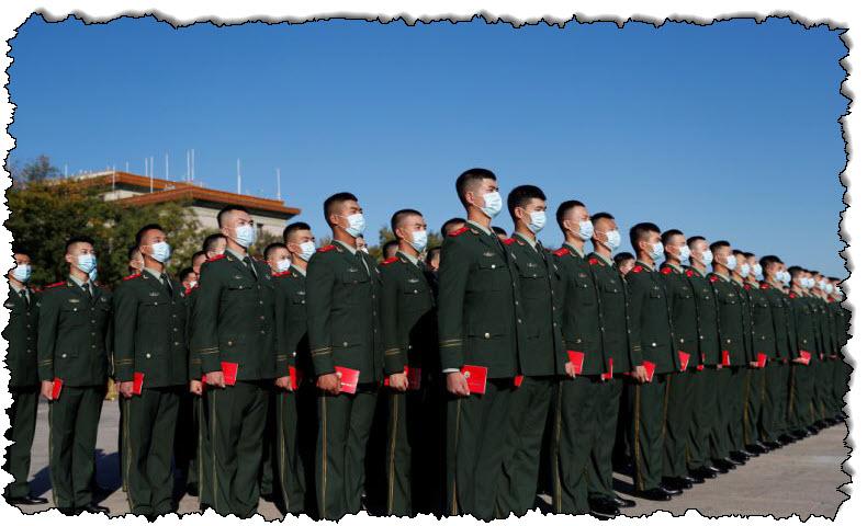 خطاب شي جين بينغ أن الصين ليست خائفة من الحرب الكورية