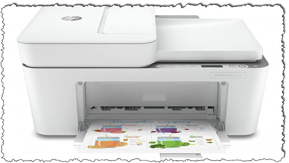 طابعة HP DeskJet 4155 اللاسلكية All-in-One